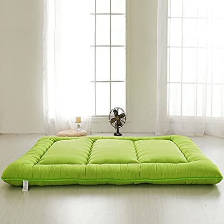 Futon Tatami amazon com green futon tatami mat japanese futon mattress cheap