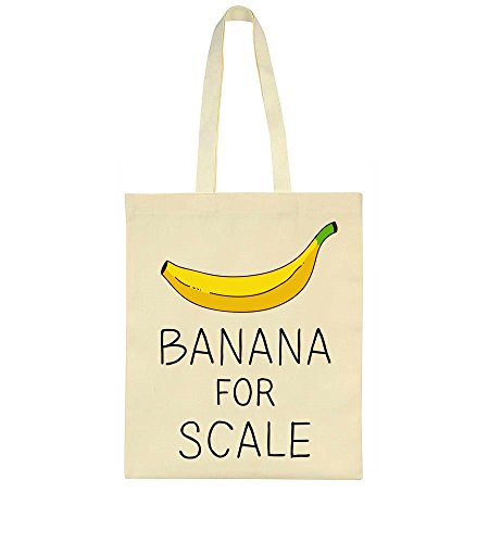 Banana Banana Tote For For Scale Bag 6YZ57xqw