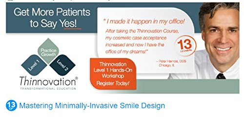 Denmat DenMat Courses: Thinnovation: Level One Hands-On. Oct 14th-15th, National Harbor, MD. CE Value: - Harbor Md National