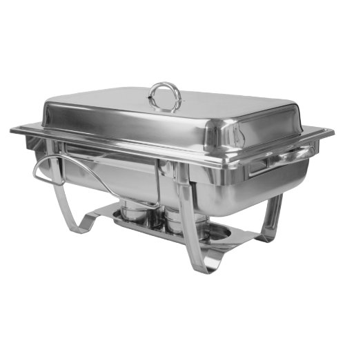 UPC 789313740130, Excellante 8 Quart Stainless Steel Chafer, Stackable