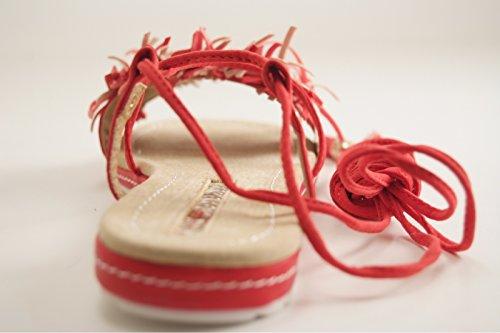Maria Mare - Zapatos de vestir para mujer Rojo