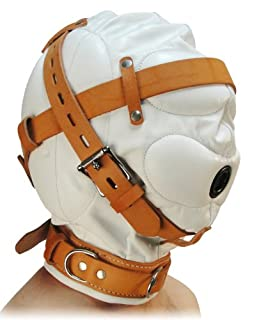 Strict Leather Total Sensory Deprivation White Leather Hood, Small/Medium (B007KL71OK) | Amazon price tracker / tracking, Amazon price history charts, Amazon price watches, Amazon price drop alerts