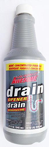 La's Totally Awesome Drain Opener Unclog Drain & Pipe Concentrated Formula 32 Oz.