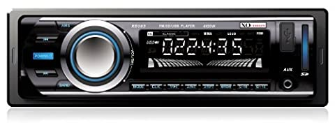 XO Vision XD103 Car Stereo Receiver with 20 watts x 4 and USB Port and SD Card Slot (Radio For Kia Forte)