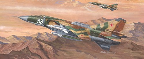 Trumpeter Mig-23MLD Flogger-K Russian Fighter Model Kit (1/48 Scale)