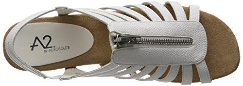 Wedge A2 US Sandal White Snake Women Aerosoles W 7 Yetaway CTqtZ