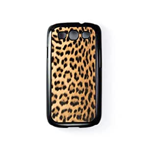 Leopard Black Hard Plastic Case Snap-On Protective Back Cover for Samsung® Galaxy S3 by Gadget Glamour + FREE Crystal Clear Screen Protector