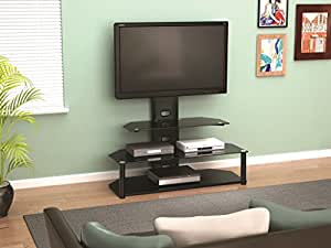 z line zl51744mixu stand mount for 55 inch tv home audio theater. Black Bedroom Furniture Sets. Home Design Ideas