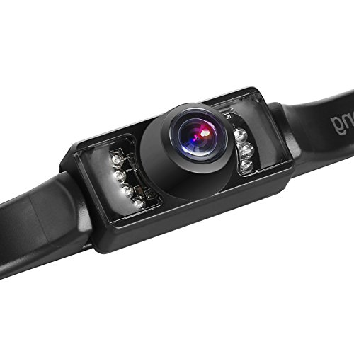 iStrong Backup Camera for Car/Truck/RV/Trailer/Pickup Rear View/Side View/Front View Camera IP68 Waterproof Night Vision with 150° Viewing Angle HD Color Guide Lines ON/OFF