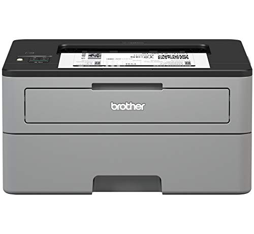 Brother Compact Monochrome Laser Printer, HL-L2350DW, Wireless Printing, Duplex Two-Sided Printing, Amazon Dash Replenishment Enabled (Renewed)