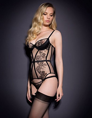 Dioni Tabbers-Agent Provocateur Black Sheer Lingerie, used for sale  Delivered anywhere in USA