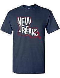 Basketball State Outline Basic Cotton T-Shirt