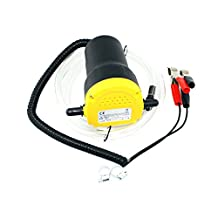 Docooler DC 12V Motor Fuel Oil Diesel Extractor Scavenge Suction Transfer Pump with Hose