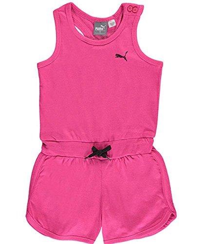 Puma Girls Romper Pink Glo
