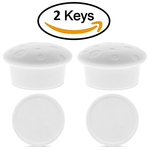 Magnetic Cabinet Lock Keys Replacement - Extra Strong Magnets for Most Brands of Child Safety Cabinet and Drawer Locks, Adhesive Surface Included on Key Holder