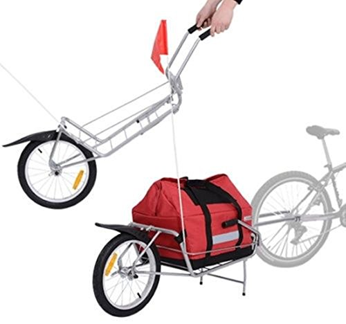 Bicycle Cargo Trailer Stroller Carrier Storage Bag Wheel 2 in 1 (Bicycle Cc 700 Men For)