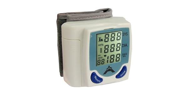 Reloj de mujer con esfera Pggpo tensiómetro de muñeca automático, métrica sistólica, diastólica y pulso al mismo tiempo: Amazon.es: Hogar