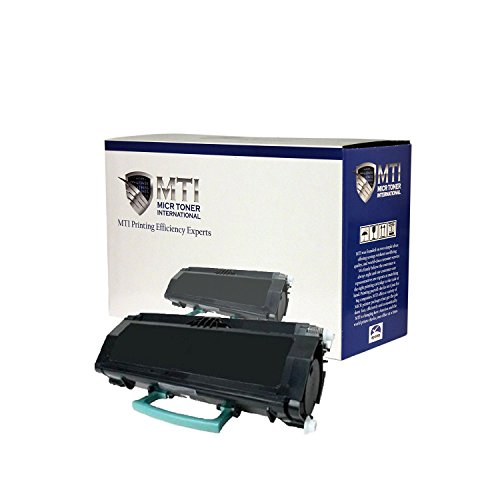 MICR Toner International Compatible High Yield Magnetic Ink Cartridge Replacement for Lexmark E360H11A E360H21A E360 E360D E360DN E360DTN E460 E460DN E460DTN E460DW E462DTN