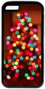 LJF phone case Sparkle Christmas Tree Theme Iphone 5C Case