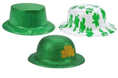 Gift Boutique St Patrick's Day Shamrock Hat, Pack of 6