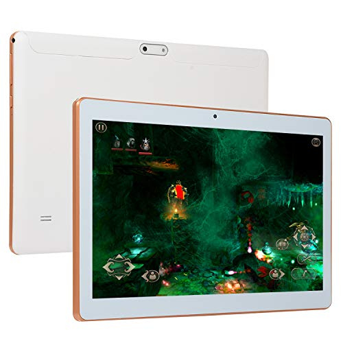 MeterMall Tablet 10.1 Inch Android OS 8.1 SystemTablet PC 6+128G Dual Card WIFI Bluetooth white British regulatory