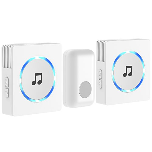 JETech 2 Main Portable Wireless DoorBell