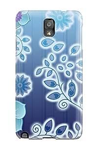 Galaxy Note 3 Flower Print High Quality Tpu Gel Frame Case Cover