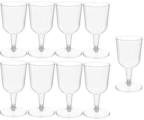 48 piece Clear Plastic Classicware Glass Like Champagne Wedding Parties Toasting Flutes 5 oz