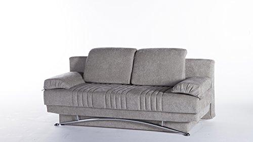 Fantasy Modern Sofa Sleeper in Valencia Gray