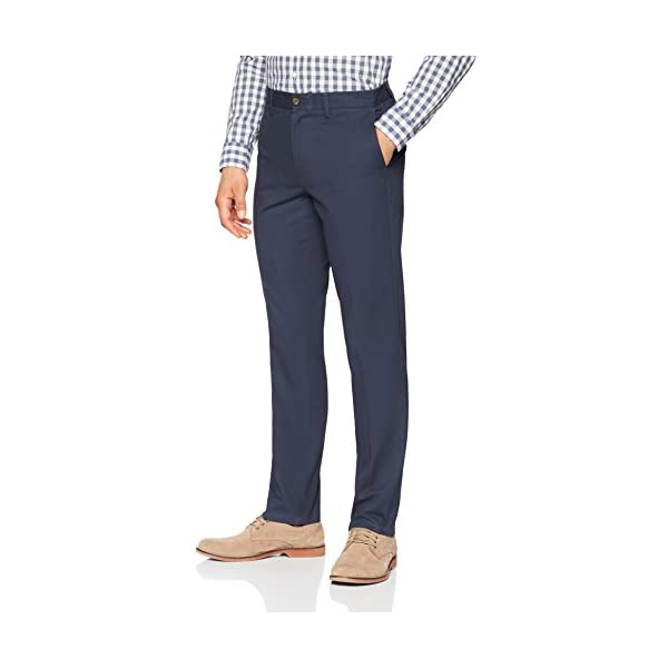 Fashion Shopping Amazon Essentials Men's Slim-fit Wrinkle-Resistant Flat-Front Chino Pant