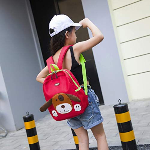 EUzeo Baby Bags Girls Boys Toddler Pattern Dog Backpack Red Kids Bag School Cartoon rrqSZ