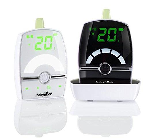 Babymoov Premium Care Babyphone Audio avec Talkie Walkie Temperature VOX et Veilleuse , Portée 1400 m A014201
