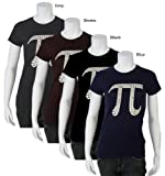 Women's NAVY PI Shirt XL - Created using the first 100 digits of PI