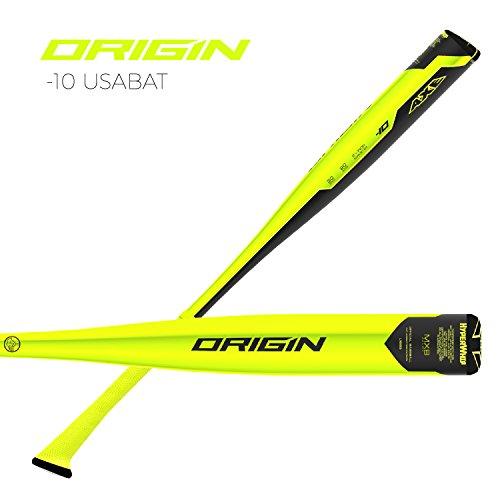 Axe Bat 2019 Origin Junior Barrel USABAT (-10) Baseball Bat