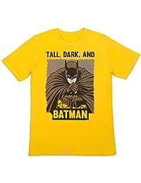 Batman - Boys Crew Neck T-Shirt, Yellow