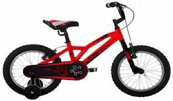 Monty 104 - Bicicleta de montaña para niño, Color Rojo, 11 ...
