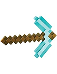 Minecraft Pickaxe Costume Accessory, One Size