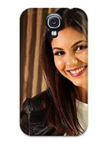 New RDYNWmU11558mudgD Victoria Justice Skin Case Cover Shatterproof Case For Galaxy S4