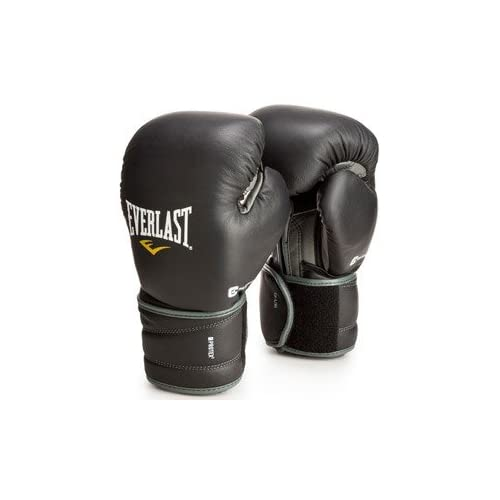 Image of Bag Gloves Everlast 111401XLGL Protex3 Gel Hook & Loop Gloves Black 14 0Z