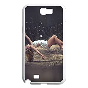 Samsung Galaxy N2 7100 Cell Phone Case White he13 floating girl sexy art OJ438212
