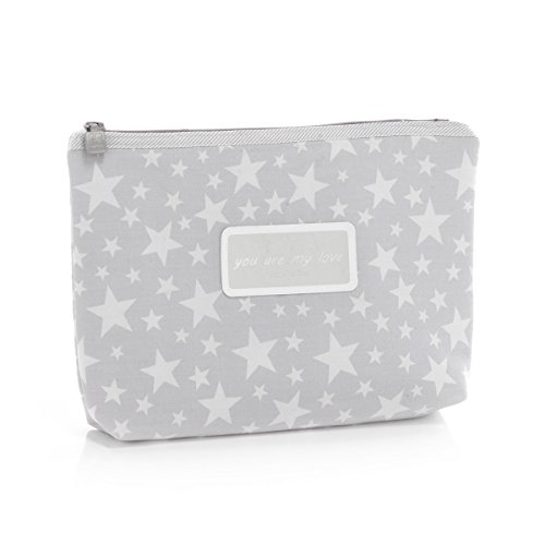 Amazon.com : Cambrass Star Toiletry Bag, Grey : Baby