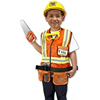 Melissa & Doug Construction Worker Role Play Costume...
