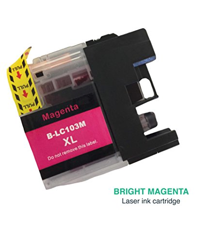 Replacement Magenta Toner Ink Cartridge, Fits Brother MFC