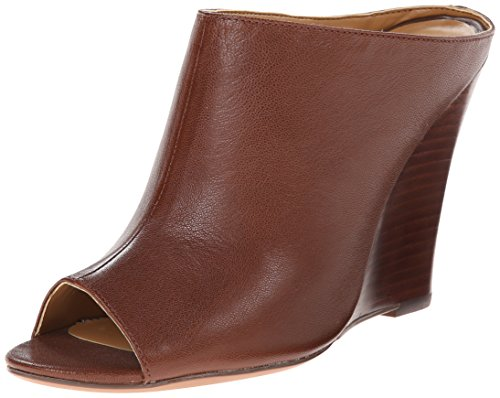 Nine West Women's Creative Leather, Dark Brown, 7.5 M US