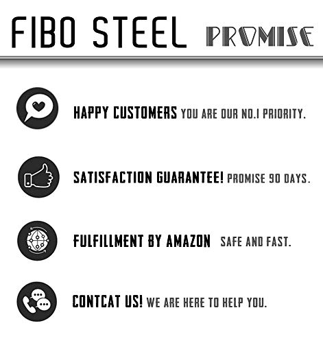 135692be3 FIBO STEEL 5-10 Pairs Stainless Steel Black Stud Earrings for Men Women  Huggie Earring
