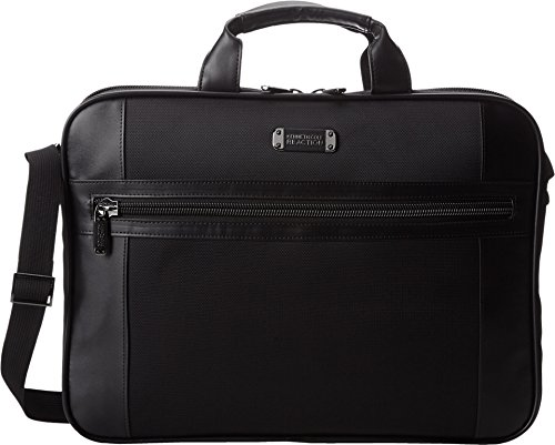 Kenneth Cole Reaction Top Zip Computer Case - Polyester Leather - - Cole Kenneth Zip