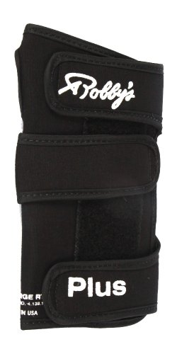 Robby's Coolmax Plus Right Wrist Support, Black, Large