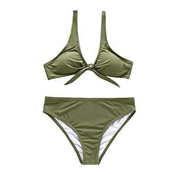Onlyone Green Bikini Set For Women