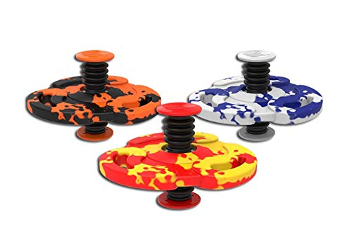 Spinnobi Original - The Bouncing Kids Toys. in & Outdoor Toys. Yard Games for Boy Toys and Girls Toys. Cool Fidget Spinners. 3 Pack (Tornado)