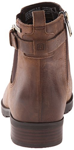 Mujer al Chelsea agua Leather Resistente Clover Tristina Boot Rockport Distressed Waterproof adnRqxwPq